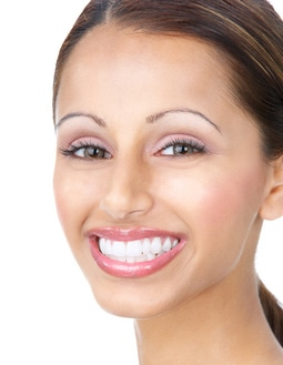 porcelain veneers model