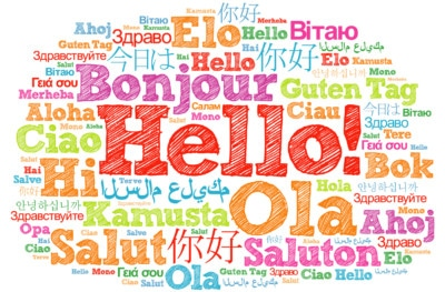 "Ways to say ""Hello"" in different languages"