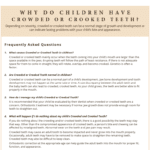 Children with crooked teeth FAQ