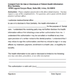 Consent form for Rice Dentistry
