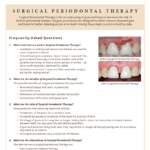 Periodontal Therapy Questions and Answers