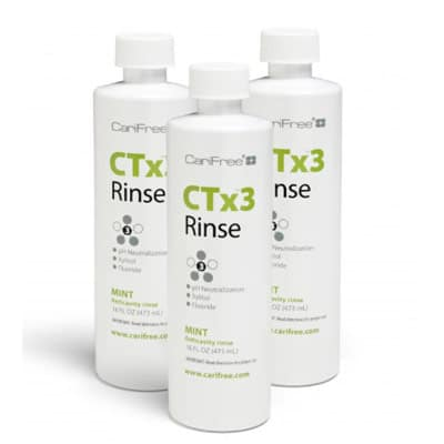 CTx3 Rinse, recommended by the Irvine dentists at Rice Dentistry