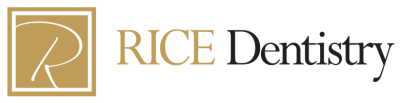 Rice Dentistry logo cosmetic dentists in Irvine CA